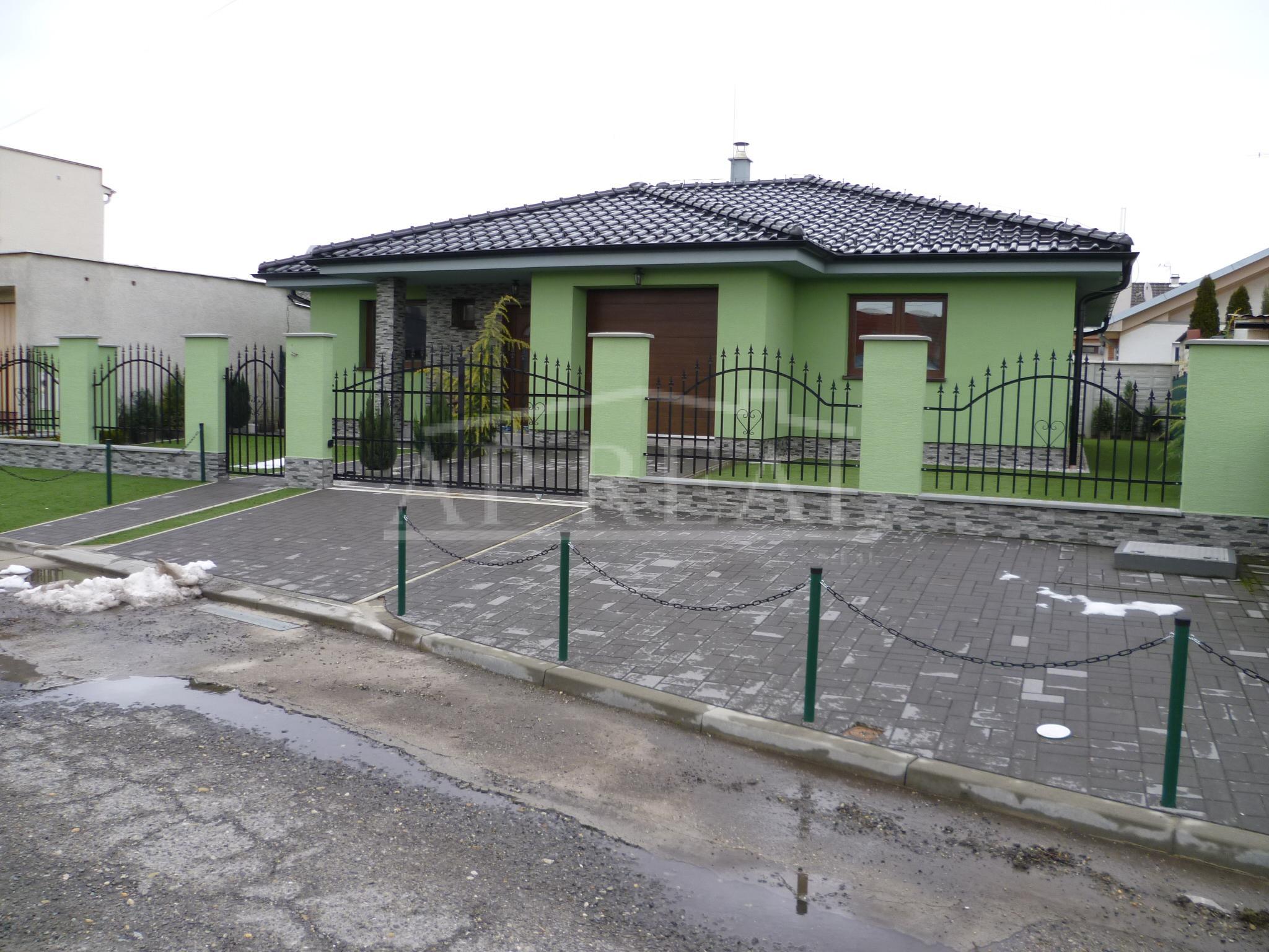 4i rodinný dom, novostavba-bungalov, Kostolište, okr. Malacky